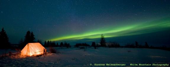 Aurora Boreal con tienda, la imagen ganadora